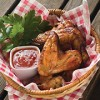 Large Bowl of Crispy Buffalo Chicken Wings